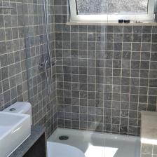 Casa de banho pronta!