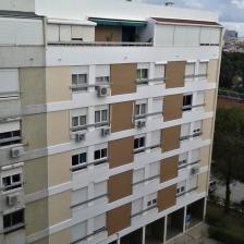 isolamento e pintura da fachada principal
